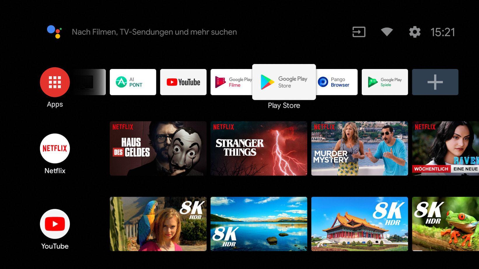 Screenshot Kagis Übersicht android