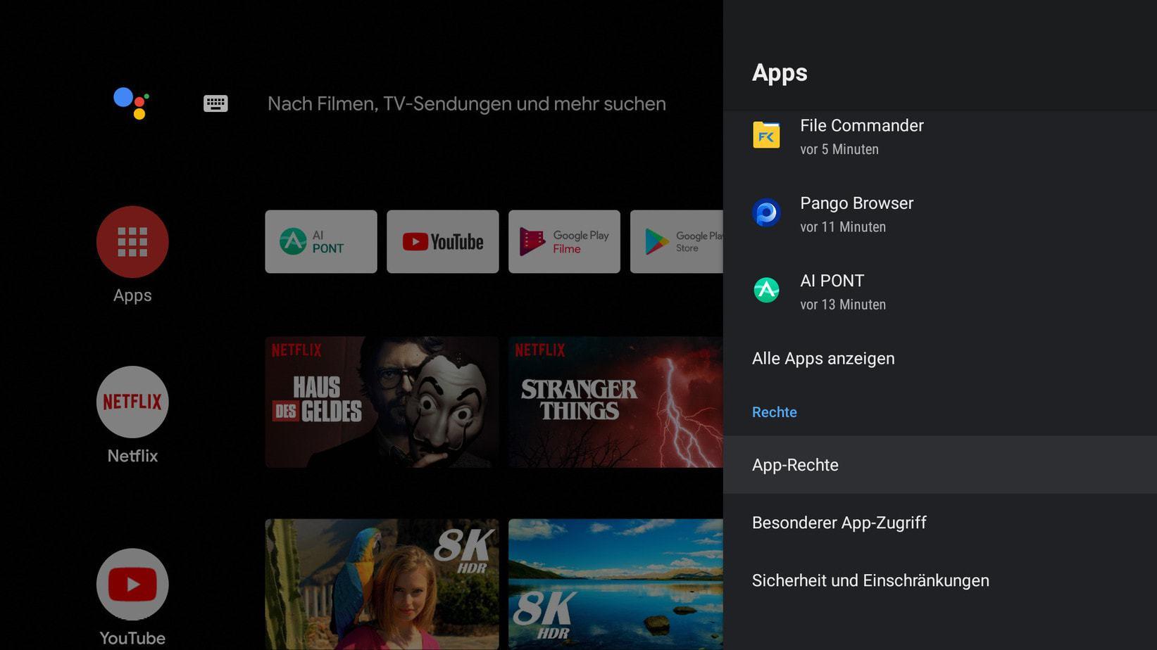 Screenshot Kagis Apprechte