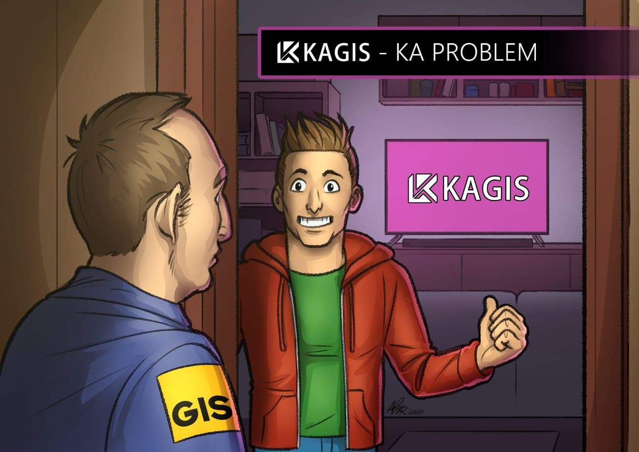 KAGIS KA PROBLEM BILD
